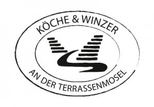 Logo der Köche und Winzer Schwarz auf Weiß