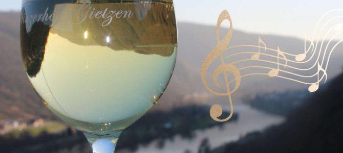 Musikalische Souvenirs beim Wein